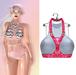 "Elegance Boutique -Top (Harness w/HUD) -BlueLined  -  ""Anne"" -Maitreya / Slink / Belleza"