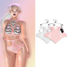 "Elegance Boutique -Panty - Sugar & White  -  ""Anne"" -Maitreya / Slink / Belleza"