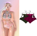 "Elegance Boutique -Panty - Rose &Army  -  ""Anne"" -Maitreya / Slink / Belleza"