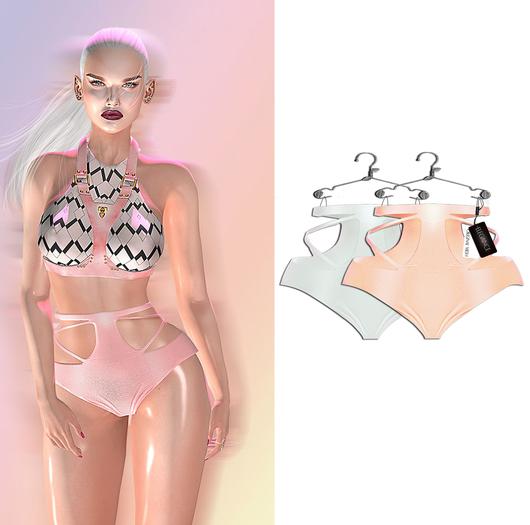 "Elegance Boutique -Panty - Nude&Ivory  -  ""Anne"" -Maitreya / Slink / Belleza"
