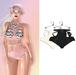 "Elegance Boutique -Panty - Cream&Black  -  ""Anne"" -Maitreya / Slink / Belleza"