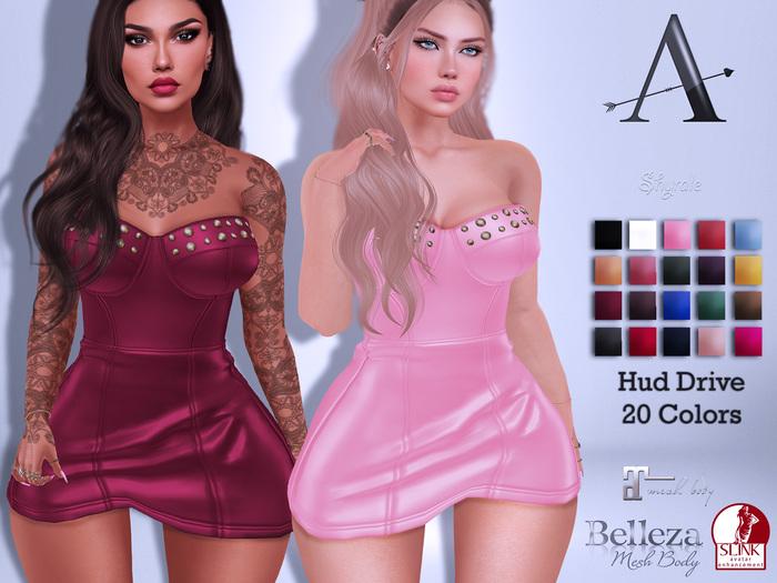 AdoreZ-Shyralei Dress Hud Colors