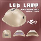MyBOXiD - Nail Dryer Lamp - Ryal Gold ON/OFF