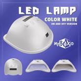MyBOXiD - Nail Dryer Lamp - White ON/OFF