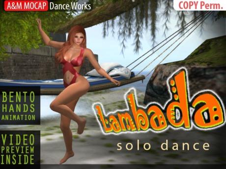 A&M: Lambada - dance animation (BENTO) :: #TAGS - latino, salsa
