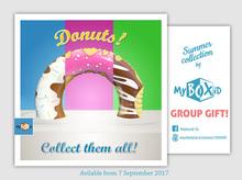 MyBOXiD - Donut Float v1.0-2 - PG - CTA Collection - GROUP GIFT