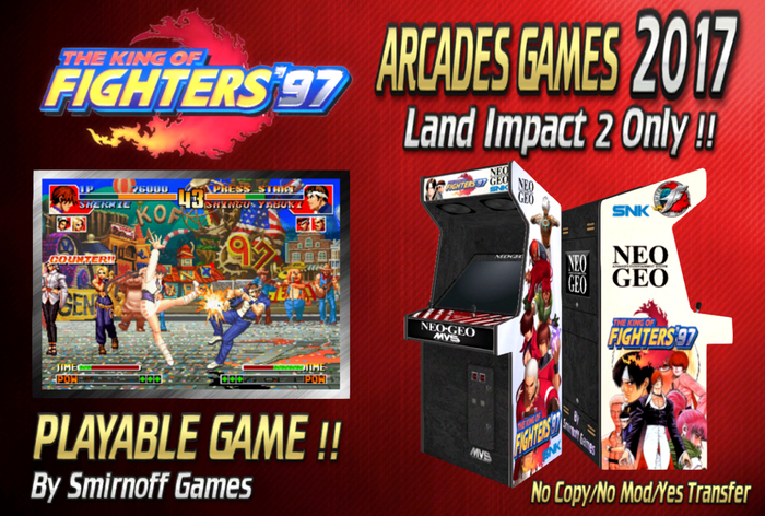Second Life Marketplace The King Of Fighters 97 Arcades