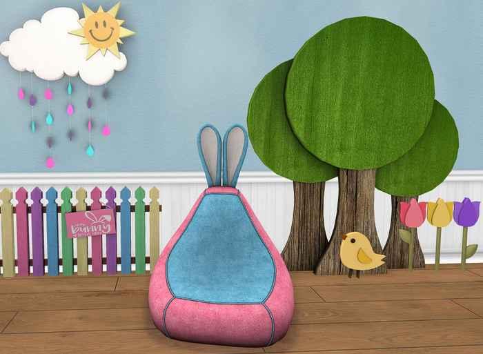 {ACD} Some Bunny Loves You Bean Bag Set PG