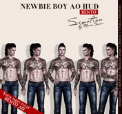 SEmotion Newbie Boy AO HUD v.3.8