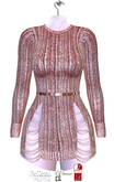 Giz Seorn - Charlize Dress [Rose Gold]
