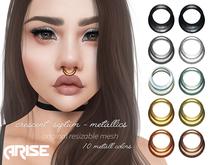 .ARISE. Crescent Septum / Metallics