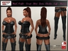 PROMO :  [Mesh] Outfit - Corset , Skirt , Boots , Chocker , Cuff - Mistress