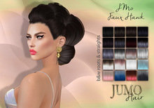 .:JUMO:. JMo Faux Hawk Hair Black&Whites
