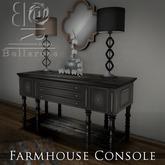 [BR] Farmhouse Console Dk taupe