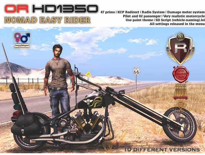 OR HD1350 NOMAD EASY RIDER (BOX)