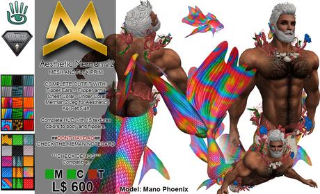 <MK> Merman Outfit V.2 - Aesthetic Niramyth