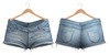 Blueberry - Frappe - Denim Shorts - Light Blue