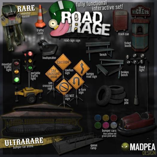 MadPea Road Rage - Sign