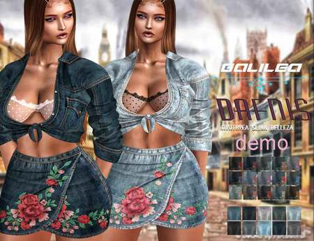 *dafnis fat pack Galilea outfit Demo
