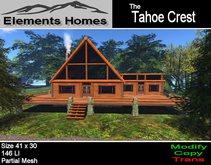The Tahoe Crest Log Cabin