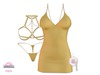 *MC* Lustful / Dress Set / Matte Maize