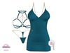 *MC* Lustful / Dress Set / Matte Teal