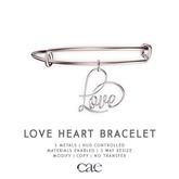 Cae :: Love Heart :: Bracelet [bagged]