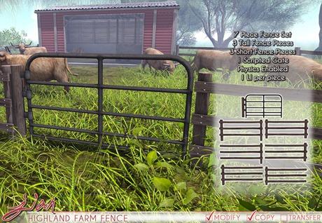 JIAN Highland Farm Fences