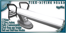 WaterWorks - PIKE DIVING BOARD - WHITE