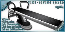 WaterWorks - PIKE DIVING BOARD - BLACK