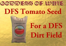 [DFS] Tomato Seed * Plant your own Tomatos * Looks real * Need a DFS Dirt field
