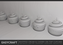 EasyCraft - Whipped Cream and Cherry on Top Decor Kit