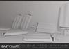 EasyCraft - Full Perm Ice Cream Popsicle with Ribbon Decor Kit