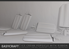 EasyCraft - Ice Cream Popsicle with Ribbon Decor Kit