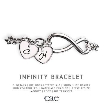 Cae :: Infinity :: Bracelet [bagged]