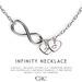 Infinity necklace vendor