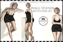 KOPFKINO: Wall Stands Bento Pose Set