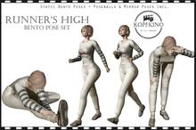 LP: Runner's High Bento pose set
