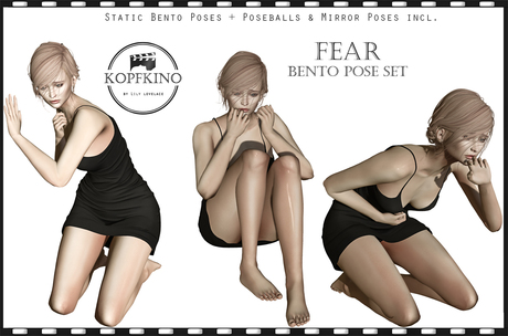 !LP: Fear Bento pose set