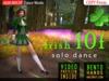 A&M: Irish Step 10F - dance animation (BENTO) :: #TAGS - irishstep, jig, tap, riverdance, reel, St Patrick day, river