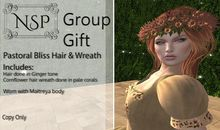 NSP Pastoral Bliss Hair - Group Gift V3 pkg hud