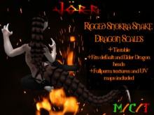 [Jörr] Rigged Snokra Dragon Scales