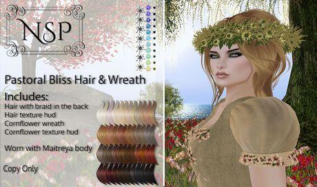 NSP Pastoral Bliss Hair - Naturals Relaxed V2 pkg hud