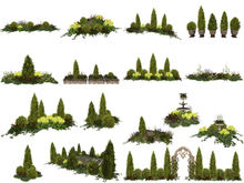 MSD - Formal Garden Collection - Micah - Fat Pack - 22 Gardens