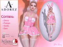 AdoreZ-Jhess Dress Pink Bunny *-*