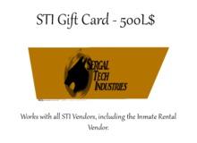 STI Gift Card 500L$