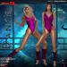 Miss S. Dance Spandex magenta Value Pack