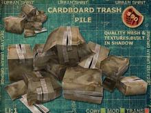Cardboard Trash Pile