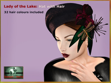 DEMO Bliensen - Lady of the Lake - Hat with Hair (32 colours)