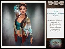 .:TBO:. Lupe - boho fringe cardigan & top - Gift